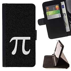 Momo Phone Case / Flip Funda de Cuero Case Cover - Pi Matemáticas Símbolo Antigua Grecia Carta - Sony Xperia Z1 L39