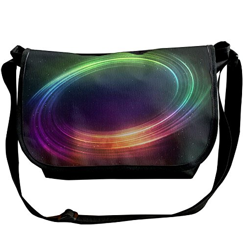 Crossbody Bags For Women & Men Color Swirls Halo Messenger Bag One Shoulder (Halo Messenger Bag)