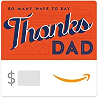 Amazon.com.au eGift Card - Thanks Dad