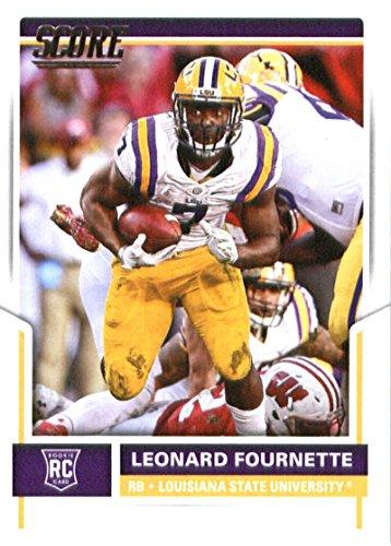 2017 Score  347 Leonard Fournette Lsu Tigers Rookie Football Card Jacksonville Jaguars 1St Round Pick  4