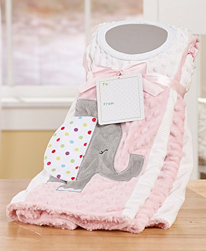 Superior Soft Baby Blanket - Patch and Play Activity - Great Baby/Toddler Gift (Pink) by Forever Baby LLC