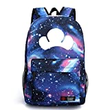 YOYOSHome Luminous Japanese Anime Cosplay Daypack Bookbag Laptop Backpack School Bag (Osomatsu kun Blue)
