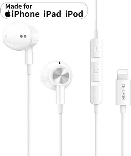 Amazon Com Chilison Light Ning Headphones For Iphone Earphones Magnetic Earbuds In Ear Mfi Certified With Microphone Controller Compatible With Iphone 11 11 Pro Iphone X Xs Xs Max Xr Iphone 8 8 Plus 7 7 P Ipad Home Audio Theater