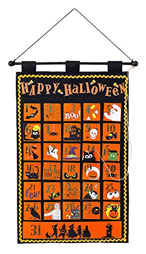 80's Teacher Costume (One Hundred 80 Degrees Halloween Count Down Calendar Wall Hanging)