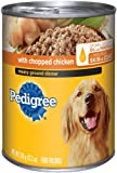 Pedigree Meaty Ground Dinner with Chunky Chicken Food for Dogs, 13.2-Ounce Cans (Pack of 24), My Pet Supplies