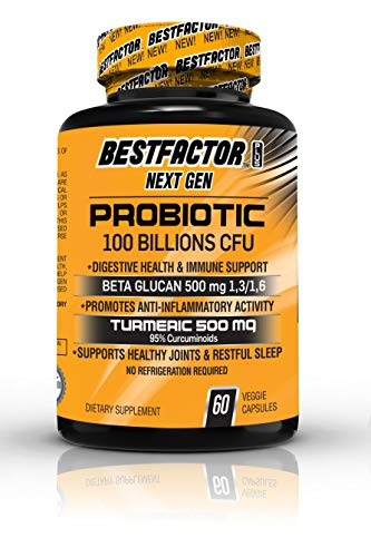 - BESTFACTOR Plus Next Gen. Probiotics 100 Billion CFU for Men & Women. Turmeric Curcumin & Beta Glucan 500 mg Each. Digestive Health. Weight Loss Pills. Joint Support Supplement. Immune System Booster