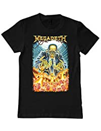 Megadeath Nuke Kids Mens Band Tee