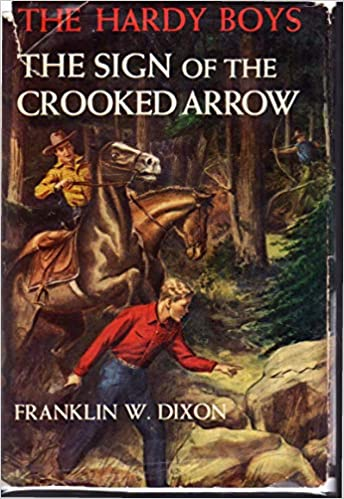 The Sign of the Crooked Arrow (Hardy Boys, Book 28)