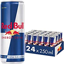 Energético Red Bull Energy Drink Pack com 24 Latas de 250Ml