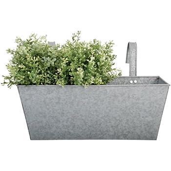 Amazon Com Esschert Design Herb Print Galvanized Steel
