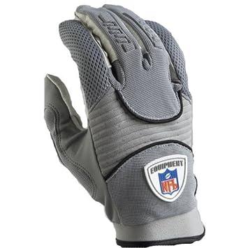 Reebok NFL Equipment DZ III COL Football Glove (RF9019) - L Gray   Amazon.co.uk  Sports   Outdoors ae735c84fcf8