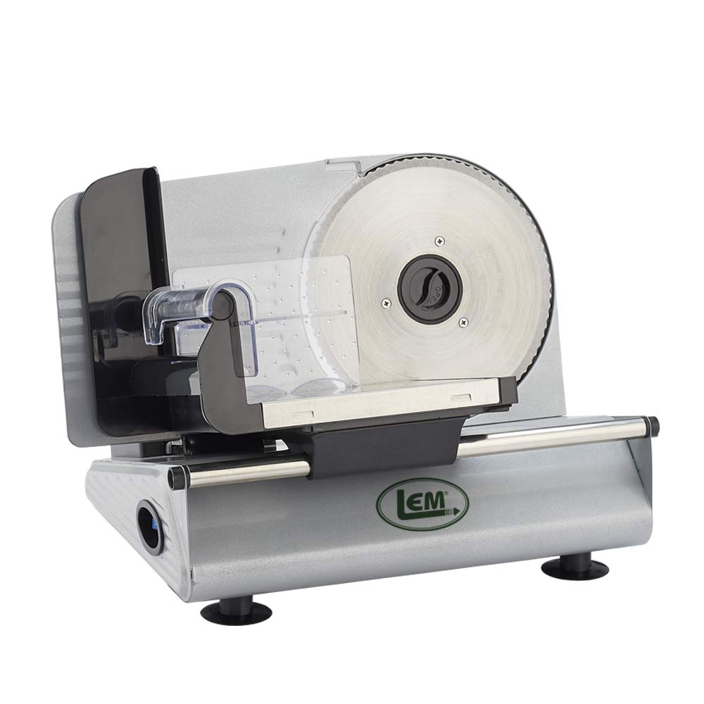 LEM 1381 Belt Driven Food Slicer (7.5-Inch Blade) by LEM