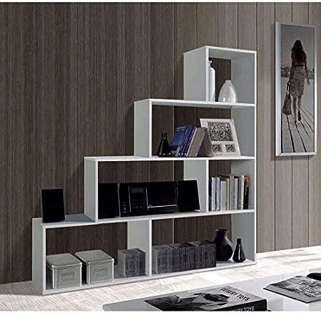 La estantería de pared modular Klum es decorativa y funcional a partes iguales, que presenta una est
