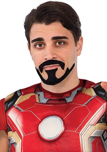Rubie's Men's Avengers 2 Age Of Ultron Iron Man Tony Stark Mustache, Black, One -