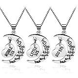 Best Jewelry For 3s - Women Family Jewellery Set Silver Love Heart Ba Review