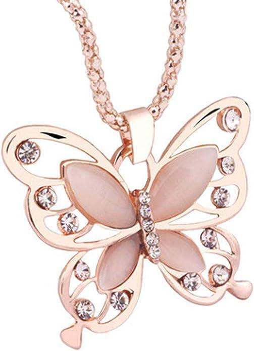 Mr.S Shop Retro Full Diamond Butterfly Pendant Drop Earrings Tassel Long Section