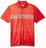 PGA TOUR Men's Fading Space-Dye Printed Polo