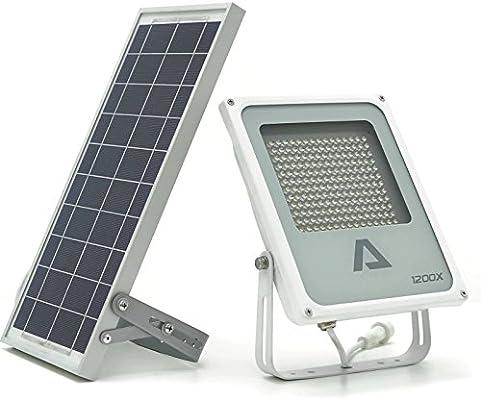 Cartel luminoso ALPHA 1200X // Luz de seguridad // Reflector para almacén, señales de tráfico, señales normativas, Impermeable, protección IP65