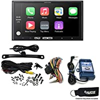 Alpine iLX-107 7 Inch Mech-less Receiver with Wireless Apple CarPlay, Backup Camera & Steering Wheel Control Interface