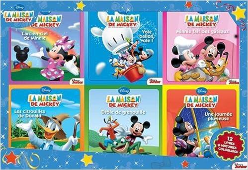 Coffret La Maison De Mickey 12 Livres Histoires