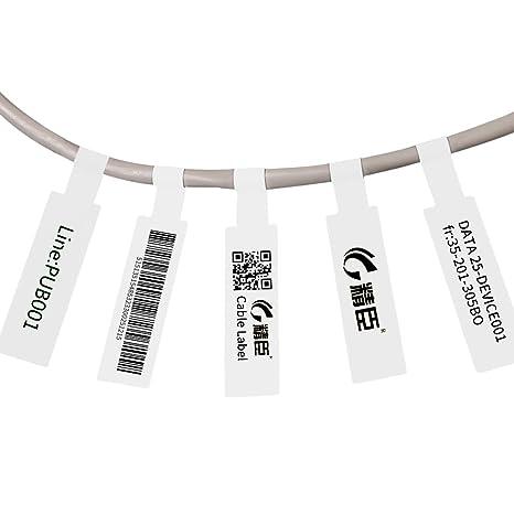 Amazon.com: Mini impresora de etiquetas térmica portátil ...