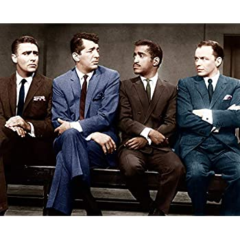 The Rat Pack Vegas Walk 24x36 Poster Frank Sinatra Dean Martin Sammy Davis Jr