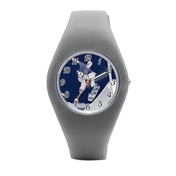 Para mujer de goma reloj Skater azul barato deportes relojes
