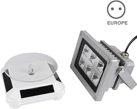 Lophome Secado Lámpara con Plataforma 60W Fotosensible Resina con ...