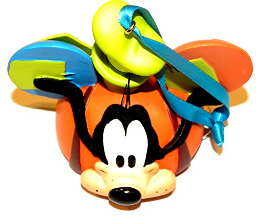 k 2015 Goofy Dog Mickey Ear Head Hat Christmas Ornament ()