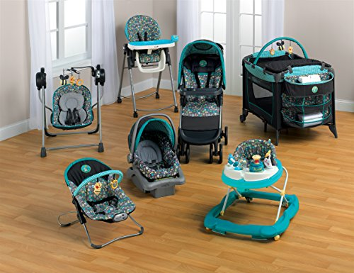 Baby Bundle Collection, Baby Gear Bundle Collection, Travel System, Play Yard, High Chair, Musical Swing and/or Bouncer (Geo Pooh) Graco Baby Gear