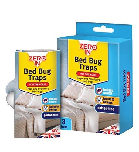 Amazon Com Zero In Bed Bug Traps Traps By Zero In Kitchen Dining