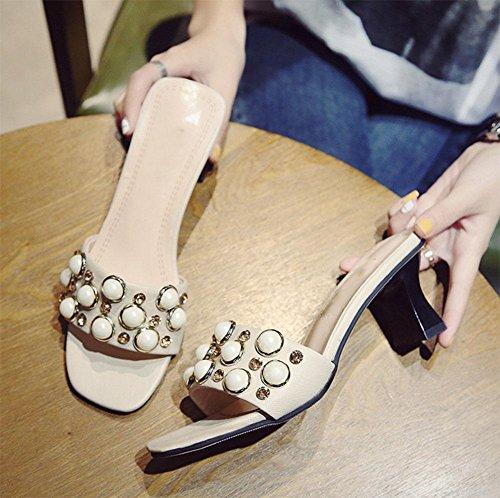 5 Perlas Mujer Zapatillas 5 Desgaste Cn35 Uk3 Us5 Meili Eu35 WxXn74xw