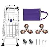 Kindsells Folding Shopping Cart, Lightweight Stair