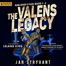 The Valens Legacy Audiobook by Jan Stryvant Narrated by Leland King