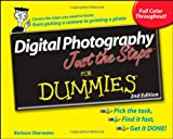 Digital Photography Just the Steps for Dummies, Barbara Obermeier, 0470275588