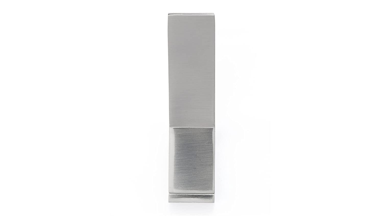 Brushed Nickel Finish Richelieu Hardware RH1163011195 Contemporary Metal Hook