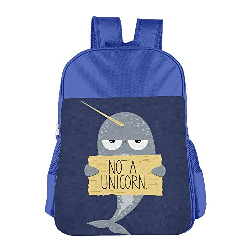 Children's NOT A UNICORN Seal School Backpack Bookbag For Boys & Girls Aged ()