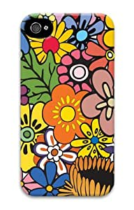 iphone 4 case fashion cases Patterns Flowers 2 3D Case for Apple iPhone 4/4S