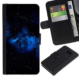 UNIQCASE - Samsung Galaxy S6 SM-G920 - Space Planet Galaxy Stars 67 - Cuero PU Delgado caso cubierta Shell Armor Funda Case Cover