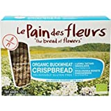 Le Pain des Fleurs - Organic Buckwheat Crispbread with No Added Salt or Sugar - 125g