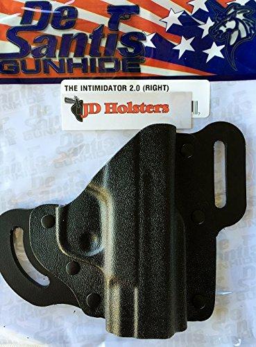 DeSantis Intimidator 2.0 Two Slot Pancake Style Holster S&W M&P Shield 9/40 RH
