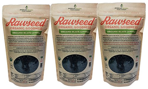 Rawseed Black Lentils Organic Certified product image