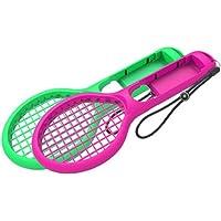 Lucy Day Accesorios de Interruptor de Agarre de Juego de Raqueta de Tenis con Mango pequeño (Color : Green Rose)