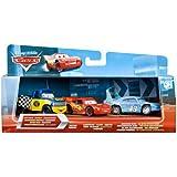 Disney Pixar Cars 3-Car Gift Pack [Dexter Hoover, Lightning McQueen, Race Dam...