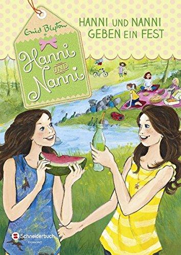 Hanni und Nanni, Band 10: Hanni und Nanni geben ein Fest