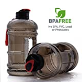: 2.2l Large Capacity Sports Water Bottle Hydrate Drinking Bottle Tank Jug Container by Moonice Resin Fitness BPA Free Leakproof for Bodybuilding Outdoor Sports Gym Workout Hiking & Office