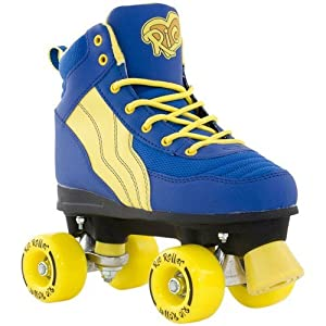Rio Roller Pure Adult Quad Skates - Blue/Yellow