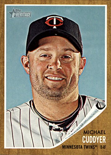 2011 Topps Heritage Baseball #386 Michael Cuddyer Minnesota Twins