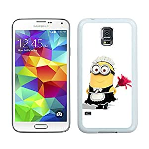 Fashion Designed Despicable Me 4 White Samsung Galaxy S5 I9600 G900a G900v G900p G900t G900w Phone Case