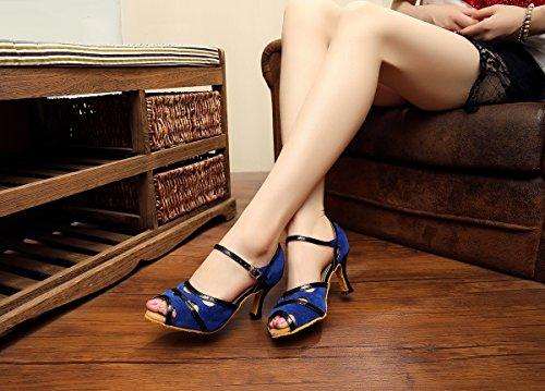 Bleu Salle femme bleu bal de Minitoo qxnwRPYIq